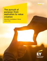 The pursuit of purpose from aspiration to value creation