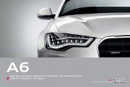 Audi A6 Limousine | A6 Avant | A6 hybrid | A6 allroad quattro Audi ...