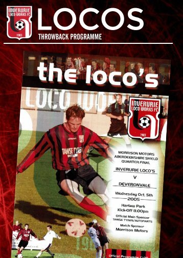 Locos Throwback Programme