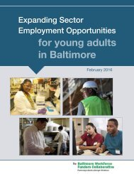 for young adults in Baltimore