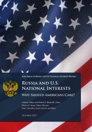 Task Force on Russia and US National Interests - Center for The ...