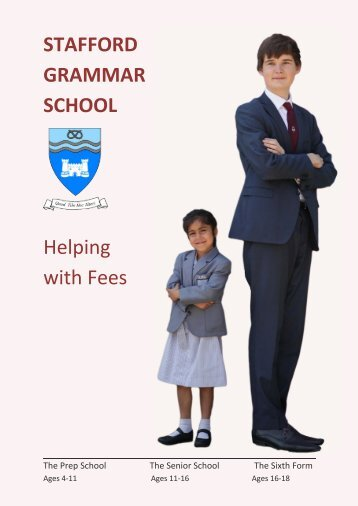 Help with fees booklets