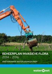 BEHEERPLAN INVASIEVE FLORA 2014 – 2016