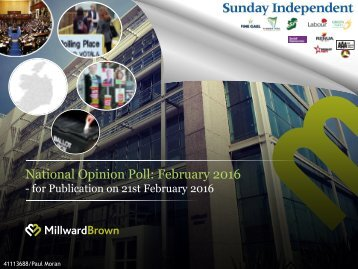 National Opinion Poll February 2016