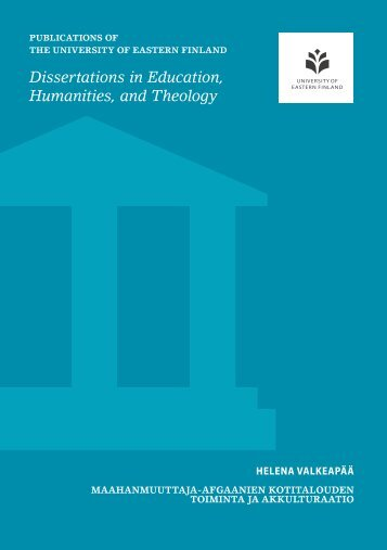 Dissertations in Education Humanities and Theology