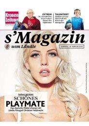 s'Magazin usm Ländle, 28. Februar 2016
