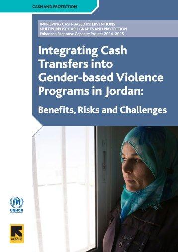 Integrating Cash Transfers into Gender-based Violence Programs in Jordan