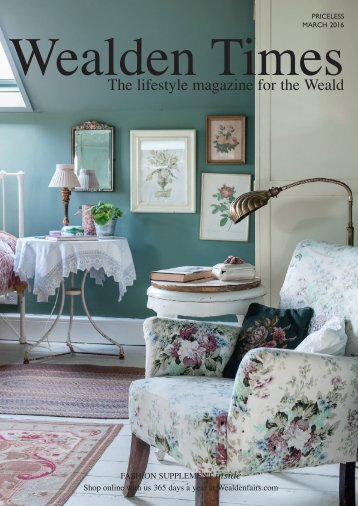 Wealden Times | WT169 | March 2016 | Fashion supplement inside