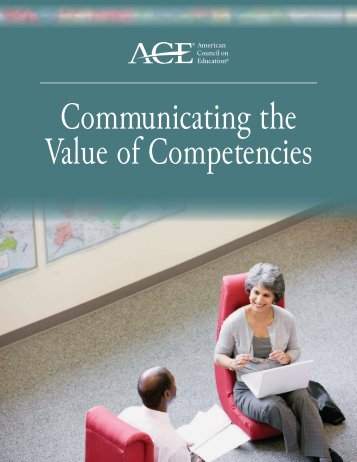 Communicating the Value of Competencies