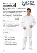 Leiber HACCP Hygienekleidung - Hoffmann Arbeitsschutz - Page 2