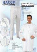 Leiber HACCP Hygienekleidung - Hoffmann Arbeitsschutz - Page 5