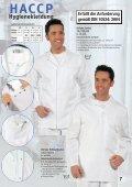 Leiber HACCP Hygienekleidung - Hoffmann Arbeitsschutz - Page 7