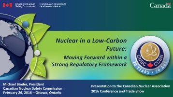 Nuclear in a Low-Carbon Future