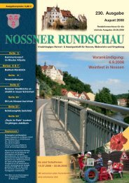 August 2008 - Nossner Rundschau