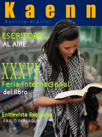 Revista Digital Kaenn primera edición