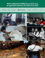 Norma Mexicana NMX-R-025-SCFI.2015 en Igualdad Laboral y No Discriminación