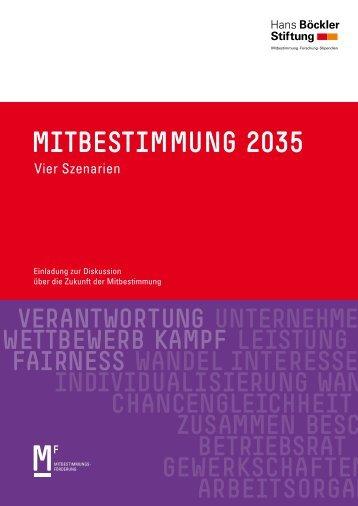 MITBESTIMMUNG 2035