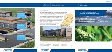 U kunt meer lezen over INTESIO in deze - Het water en de stad