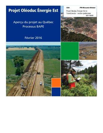 Projet Oléoduc Énergie Est