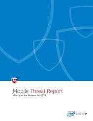 Mobile Threat Report