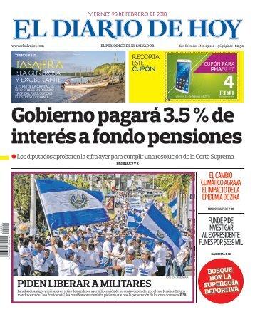 El Diario de Hoy  - 26/02/2016