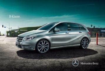 B-Klasse. - Mercedes-Benz Magyarország
