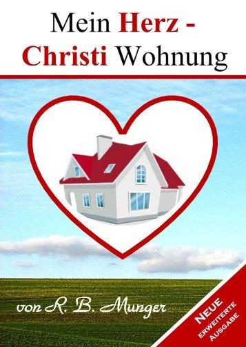 Leseprobe Mein Herz Christi Wohnung