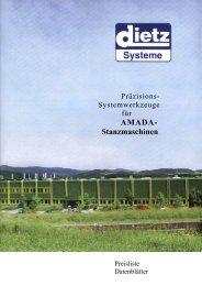 AMADA- Stanzmaschinen - DIETZ Systeme