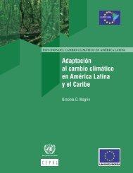 Adaptación al cambio climático en América Latina y el Caribe
