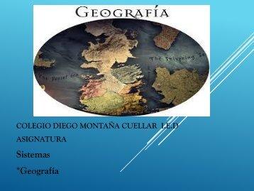 Presentación 4 geografia d.m