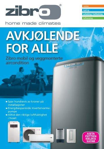 AVKJØLENDE FOR ALLE - Zibro