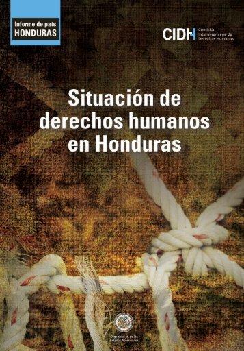 Situación de derechos humanos en Honduras