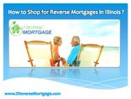 How to Shop for Reverse Mortgages in Illinois ? - Z Reverse Mortgage