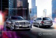 C-Klasse Limousine und T-Modell. - Mercedes-Benz Luxembourg