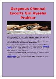 Gorgeous and Hot Chennai Escorts Girl Ayesha