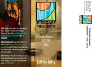Call For Entry - Midcoast Fine Arts