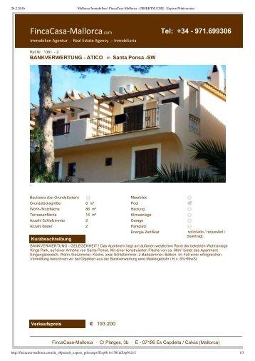 Mallorca Immobilien _ FincaCasa-Mallorca - OBJEKTSUCHE - Expose Printversion