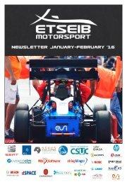 NEWSLETTER ETSEIB Motorsport JAN-FEB '16