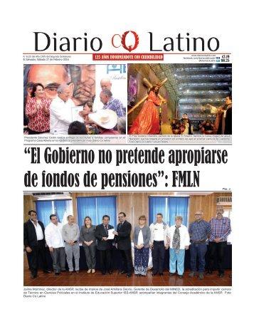 Edición 27 de Febrero de 2016
