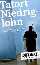 Lobbyisten hinter- treiben Mindestlöhne - Carsten Zinn