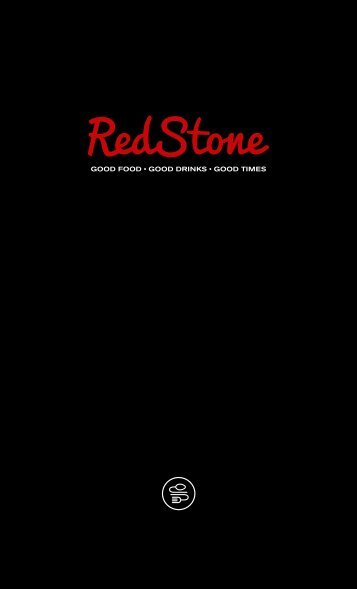 Menu RedStone