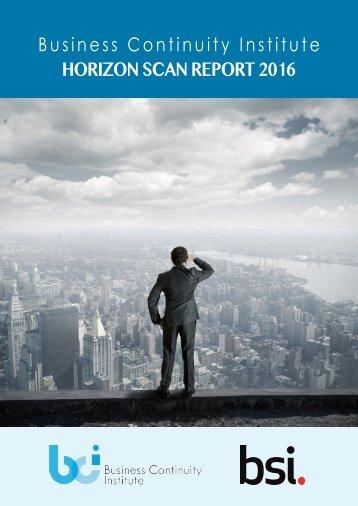 HORIZON SCAN REPORT 2016