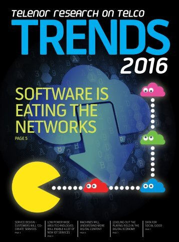SOFTWARE IS EATING THE NETWORKS