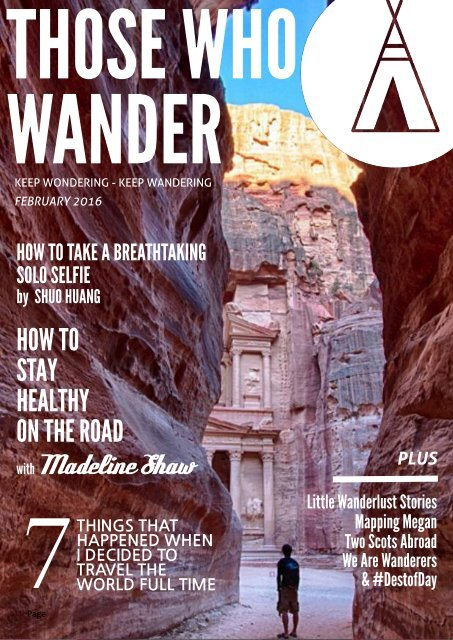 Those Who Wander - February 2016 #2
