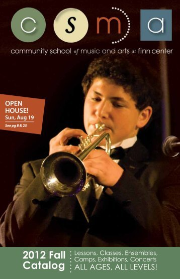 catalog (pdf) - Community School of Music and Arts
