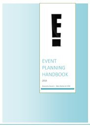 E Events Planning Handbook