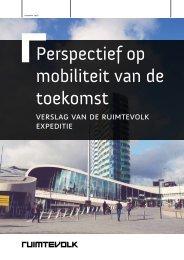 Perspectief op mobiliteit van de toekomst
