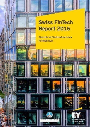 Swiss FinTech Report 2016