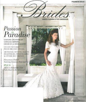 Modern Luxury Brides - Eden Rock Hotel
