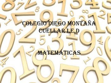 trabajo informatica matematicas